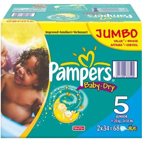 "Подгузники ""Pampers Active Baby"" (Памперс Актив Бэби) Large 16+кг 48шт джамбо упаковка"