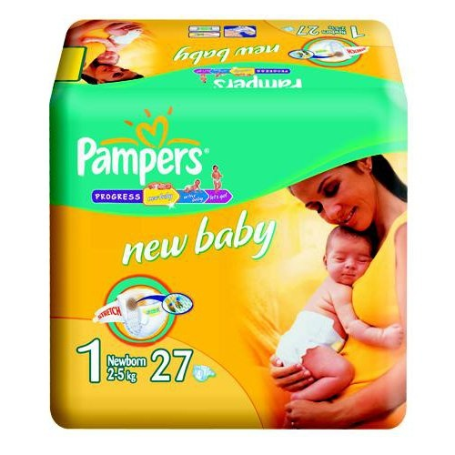"Подгузники ""Pampers New Baby"" (Памперс Нью Бэби) New born 2-5кг 27шт"