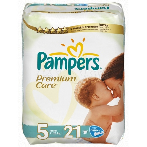 "Подгузники ""Pampers Premium Care"" (Памперс Премиум Кеа) Junior 11-25кг 21шт"