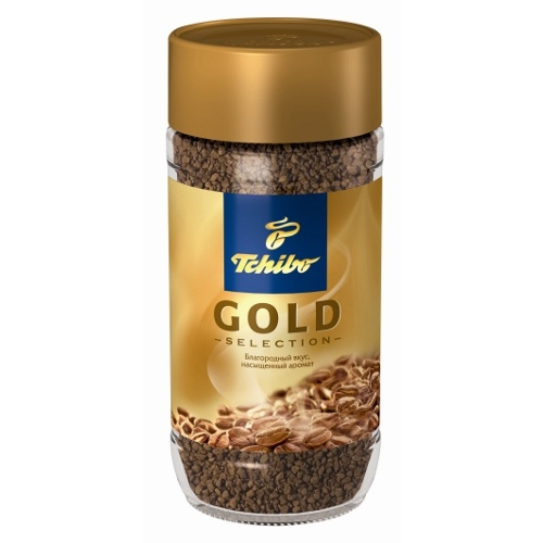 "Кофе ""Tchibo"" (Чибо) Gold Selection растворимый 47"
