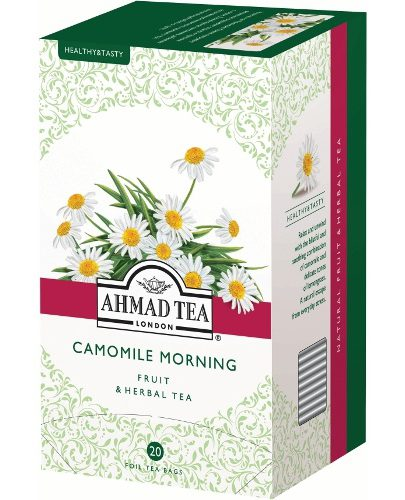"Чай ""Ahmad Tea"" (Ахмад Ти) Camomile Morning травяной ромашка лимон 20пак х 1"