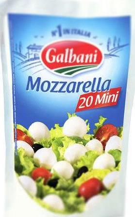 Сыр Galbani Mozzarella mini 45%