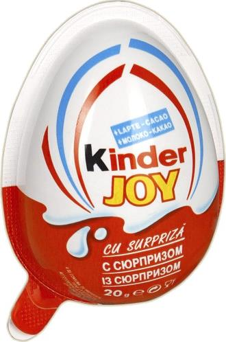 Яйцо Kinder Surprise Joy шоколадное