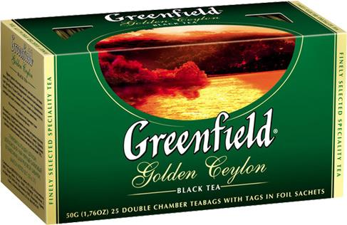 Чай Greenfield Golden Ceylon черный