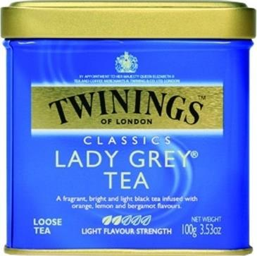 Чай Twinings Lady Gray черный