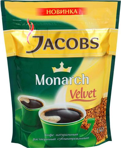 Кофе Jacobs Monarch пакет
