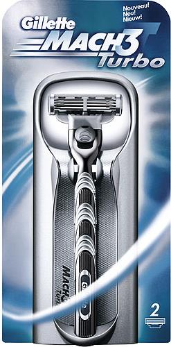Станок Gillette Mach3 Turbo для бритья