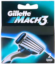 Кассеты Gillette Mach3 Turbo для бритвенного станка