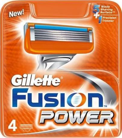Кассеты Gillette Fusion Power для бритвенного станка