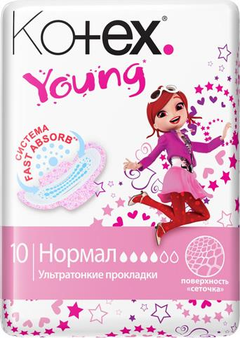 Прокладки Kotex Young