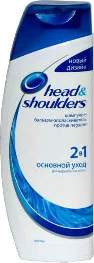Шампунь Head & Shoulders Основной Уход 2-в-1