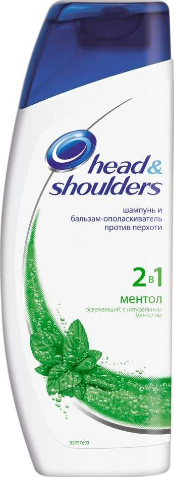 Шампунь Head & Shoulders Ментол 2-в-1
