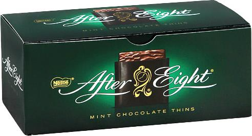Шоколад Nestle After Eight мята