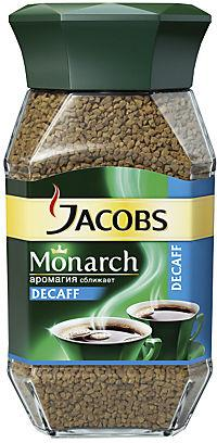 Кофе Jacobs Monarch Decaf