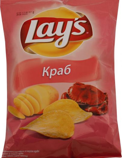 Чипсы Lay's Краб