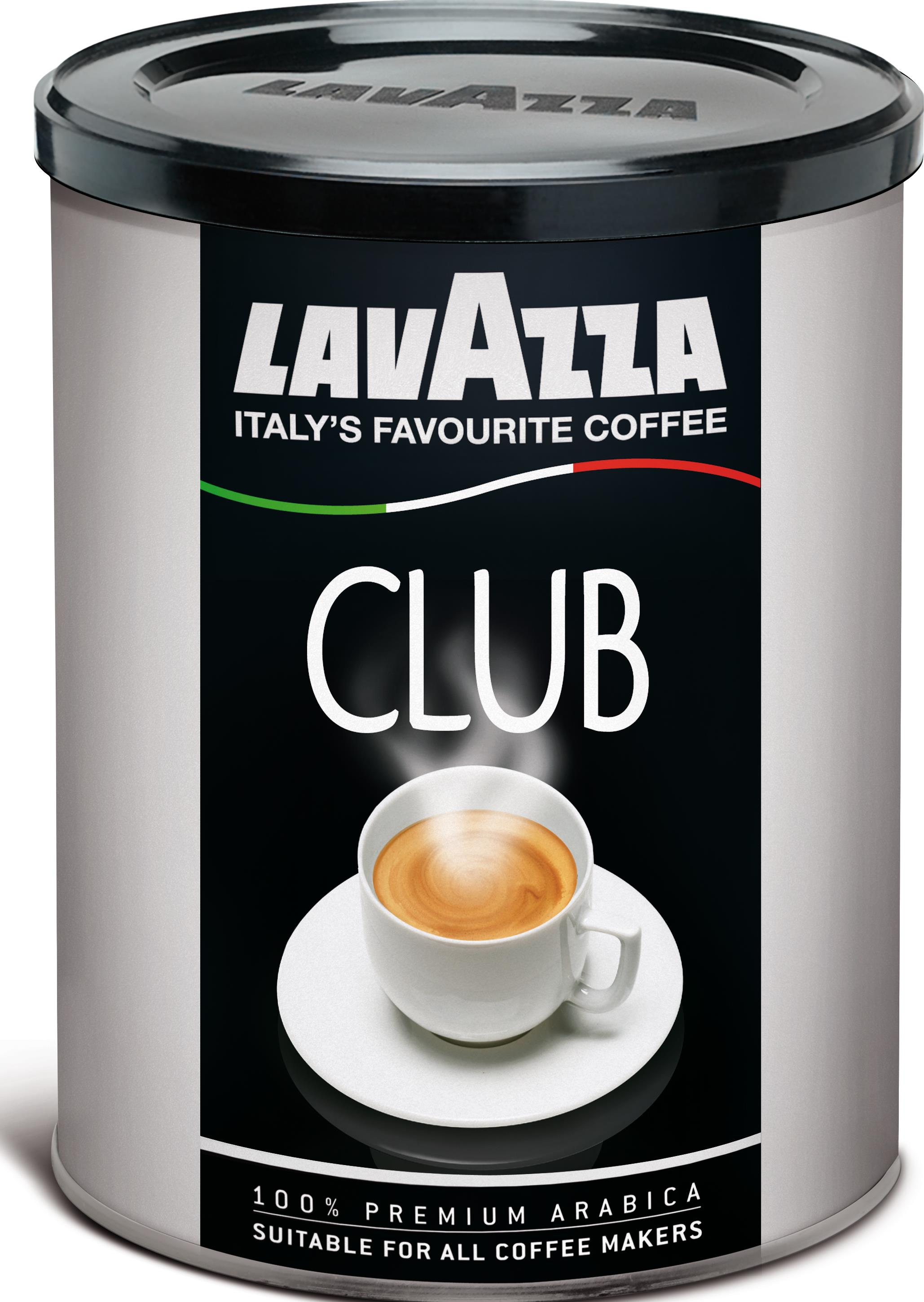 Кофе Lavazza Club молотый ж/б