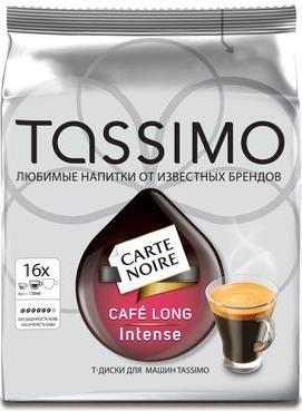 Кофе Tassimo Carte Noire Cafe long Intense