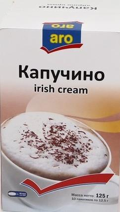 Капучино Aro irish cream
