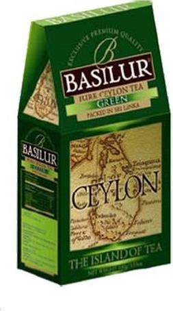 Чай Basilur Ceylon Island of Tea Green