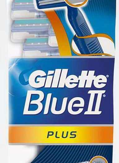Станок для бритья Gillette Blue II Plus одноразовый
