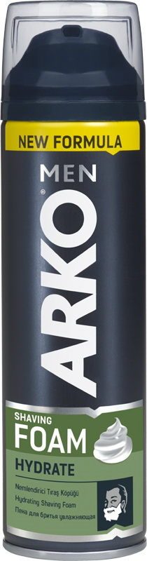 Пена для бритья Arko men Hydrate