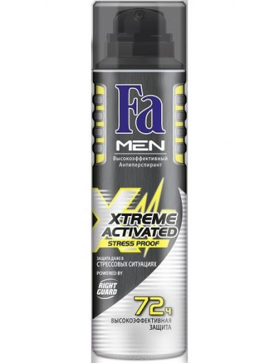 Дезодорант Fa Men Xtreme Activated