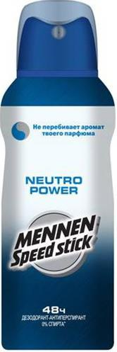 Дезодорант Mennen Speed Stick Neutro Power спрей