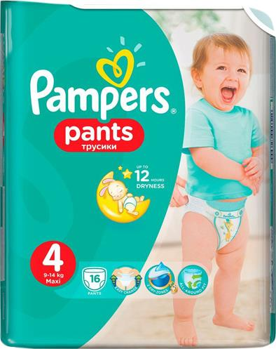 Трусики Pampers Pants 4 (9-14 кг)