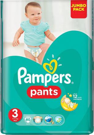 Трусики Pampers Pants 3 (6-11 кг)