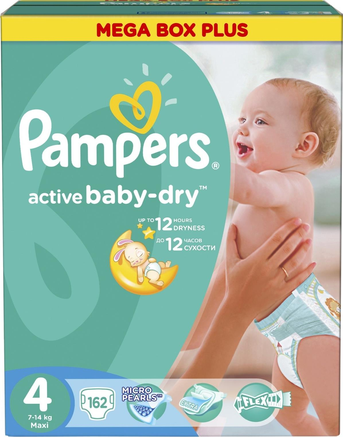 Подгузники Pampers Active Baby Maxi (7-14)