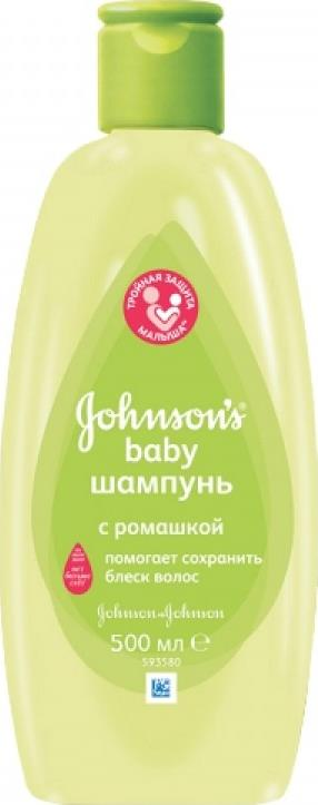 Шампунь Johnsons Baby С ромашкой