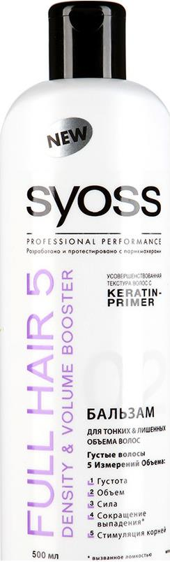 Бальзам Syoss Full hair 5