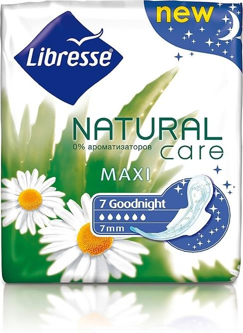Прокладки Libresse Natural care night