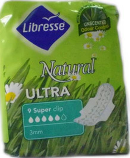 Прокладки  Libresse Natural ultra super
