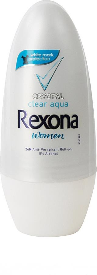 Дезодорант-антиперспирант Rexona Crystal Clear Aqua шариковый