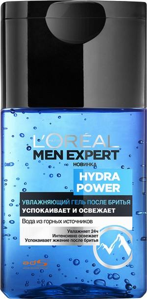 Гель L'Oreal Men Expert Hydra Power после бритья