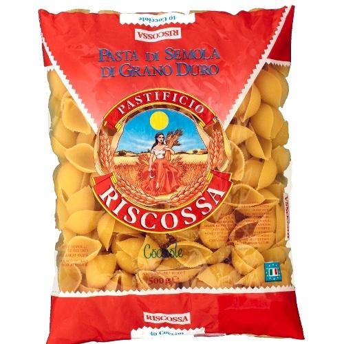 """Макаронные изделия """"Riscossa"""" (Рискосса) кучеле 500г"""