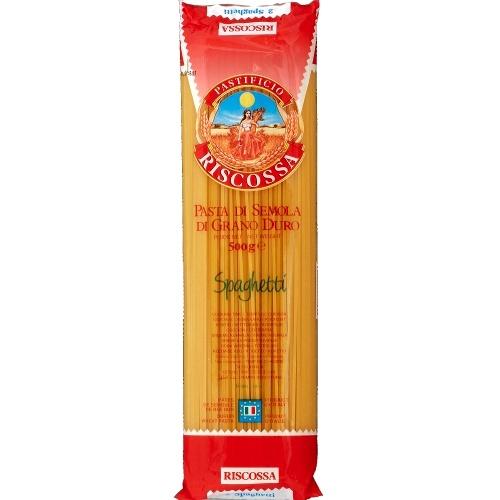 """Макаронные изделия """"Riscossa"""" (Рискосса) спагетти 500г"""
