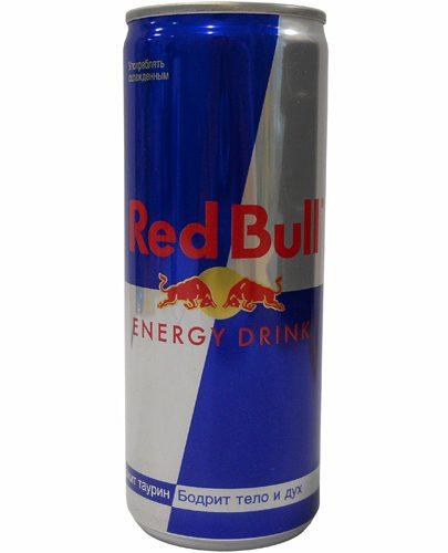 "Напиток энергетический ""Red Bull"" (Ред Булл) газированный 355мл ж/б"